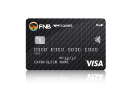 Credit card credit cards fnb private client reheart Image collections