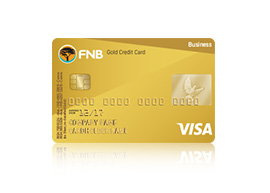 Overview credit cards fnb the fnb gold business credit card reheart Gallery