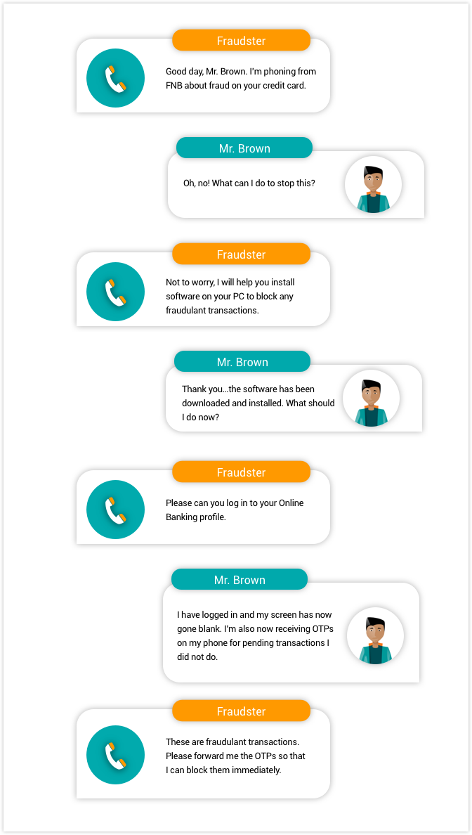 example of telephone conversation The following suggestions are helpful for making your phone conversations more   (example - good afternoon, lehigh university, telecommunications,.