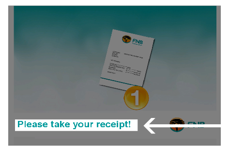 How to activate your online banking via an atm how to demos fnb 1 reheart Choice Image
