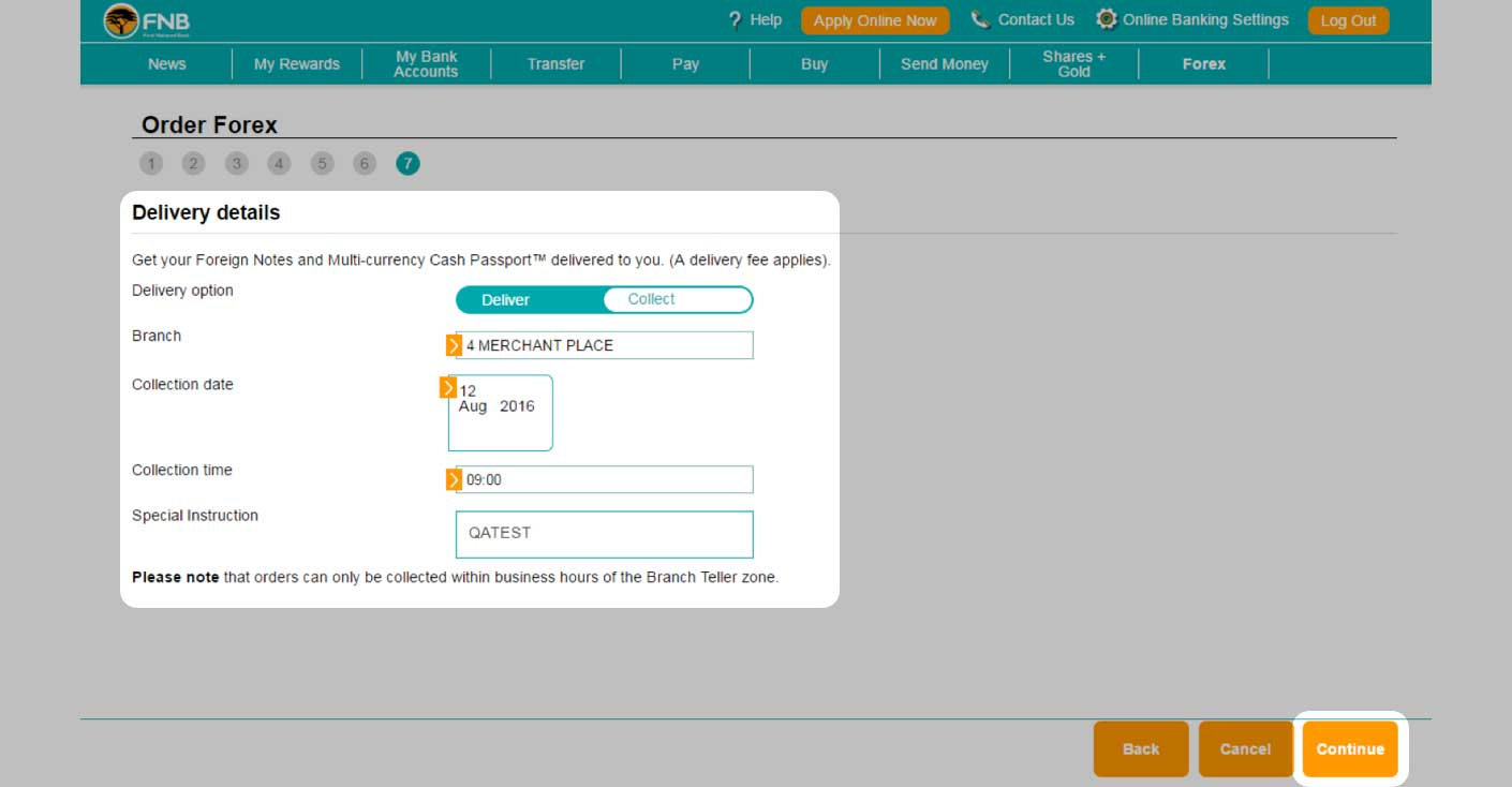 Fnb forex trading account