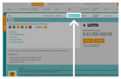 How to play LOTTO online - How To Demos - FNB