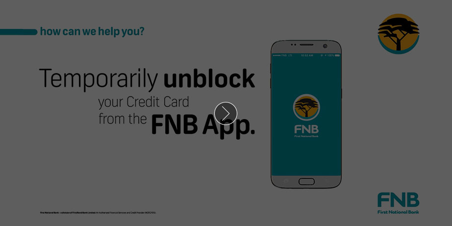 Credit Card - Credit Cards - FNB
